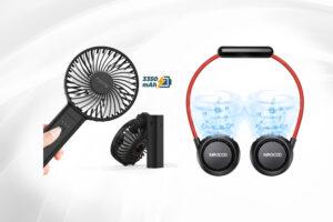 Ventilatori portatili, una svolta contro il caldo
